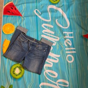 7FAMK ankle jeans size 32